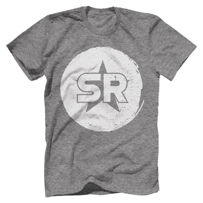"SR ""Circle Front and Center"" Tee T-Shirts SOFREP Premium Men's Tee Heather Gray XS"