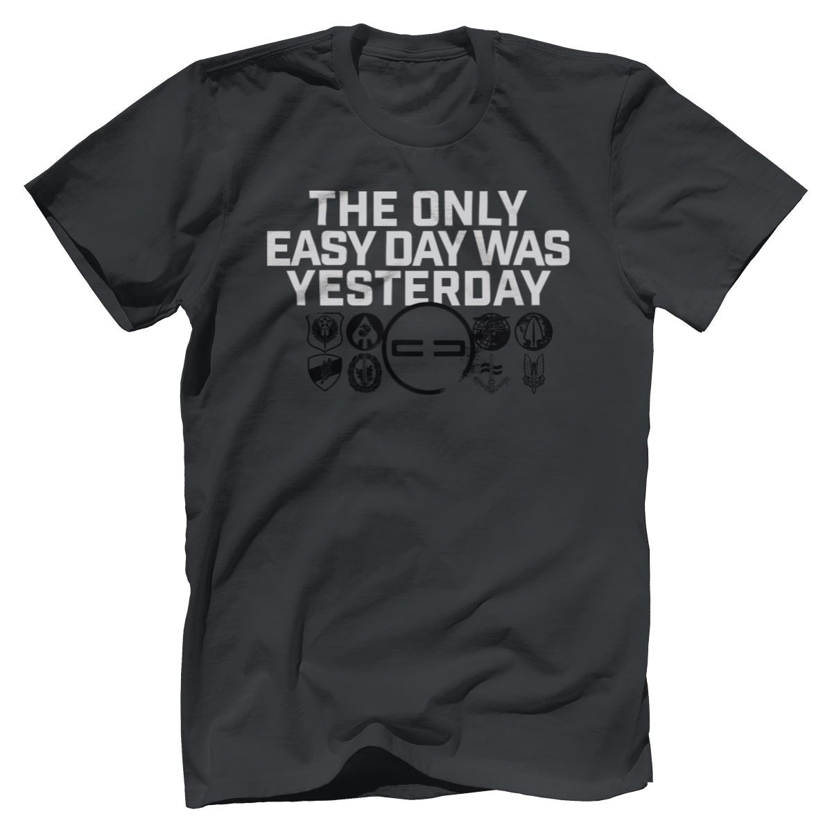 Easy Day Premium Tee Apparel Print Brains Premium Men's Tee Dark Gray XS
