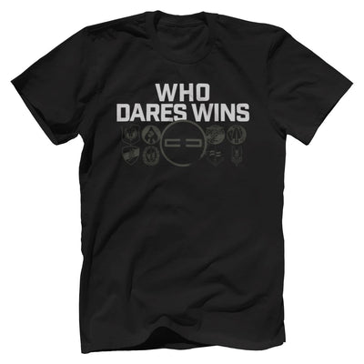 Who Dares Wins Tee T-Shirts SOFREP Premium Men's Tee Black XS