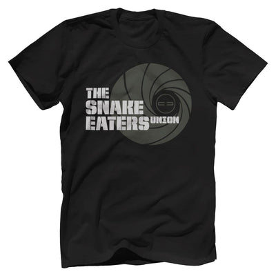 Double Tap Premium Tee - Snake Eaters Union T-Shirt T-Shirts Print Brains Premium Men's Tee Black XS