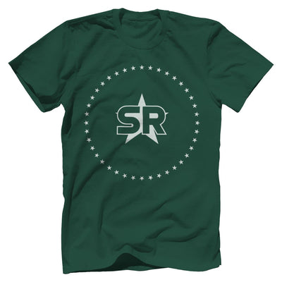 "SR ""Stars"" Tee T-Shirts SOFREP Premium Men's Tee Forest Green XS"