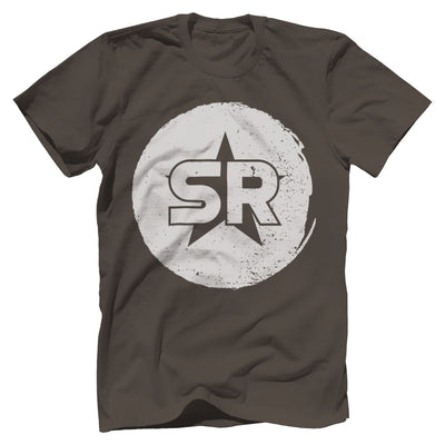 "SR ""Circle Front and Center"" Tee T-Shirts SOFREP Premium Men's Tee Warm Gray XS"