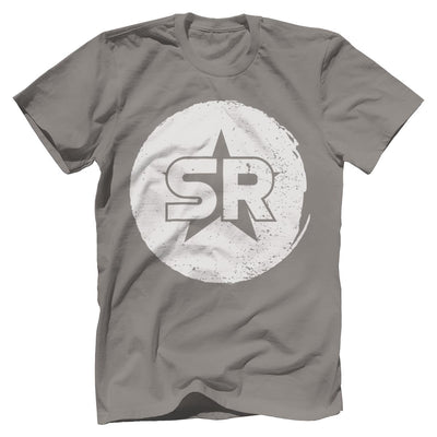 "SR ""Circle Front and Center"" Tee T-Shirts SOFREP Premium Men's Tee Gray XS"
