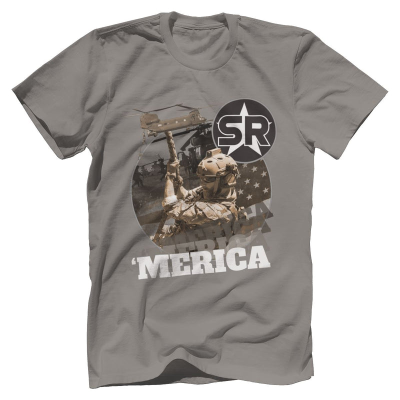 SOFREP Loves 'Merica Tee T-Shirts SOFREP Premium Men's Tee Black XS