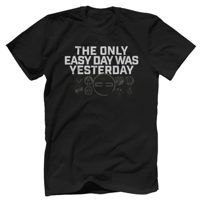 Easy Day Premium Tee T-Shirts Print Brains Premium Men's Tee Black XS