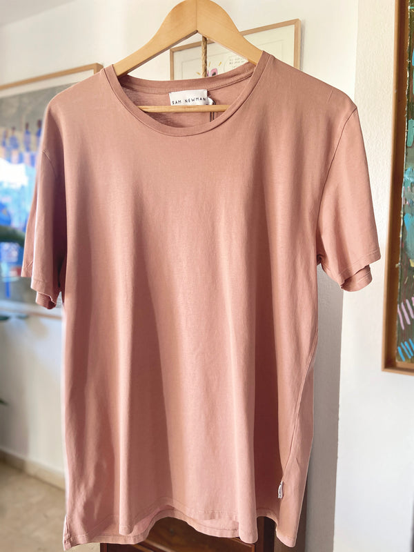 WASHED RUST BASIC TSHIRT