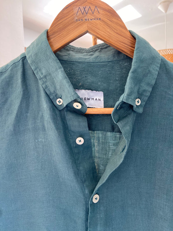 BASIC AUGUSTA LINEN SAM SHIRT