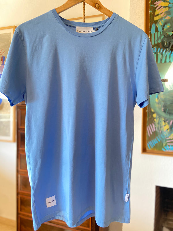 BASIC WASHED BLUE TSHIRT