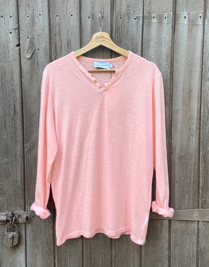 ESSENTIAL LIGHT ORANGE LONG SLEEVES