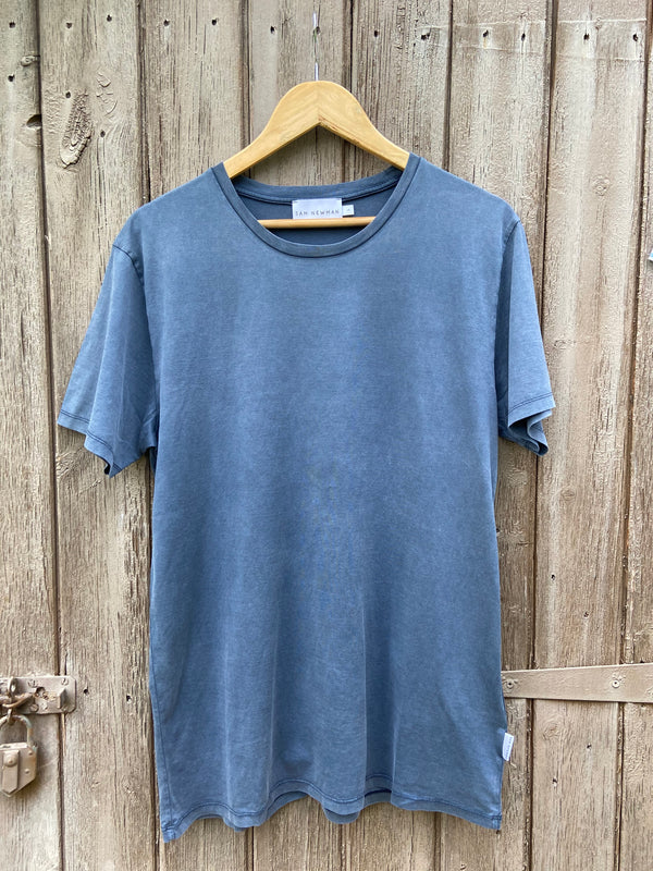 BASIC WASHED NAVY TSHIRT