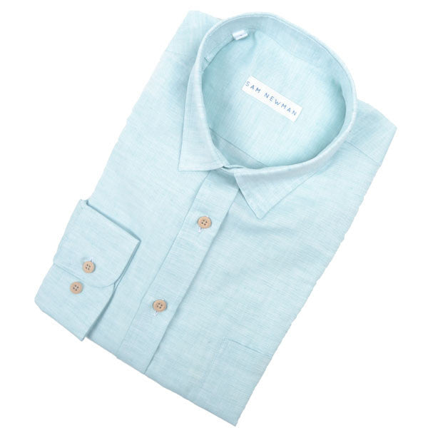 SSS16-4 FRESH MINT SAM SHIRT