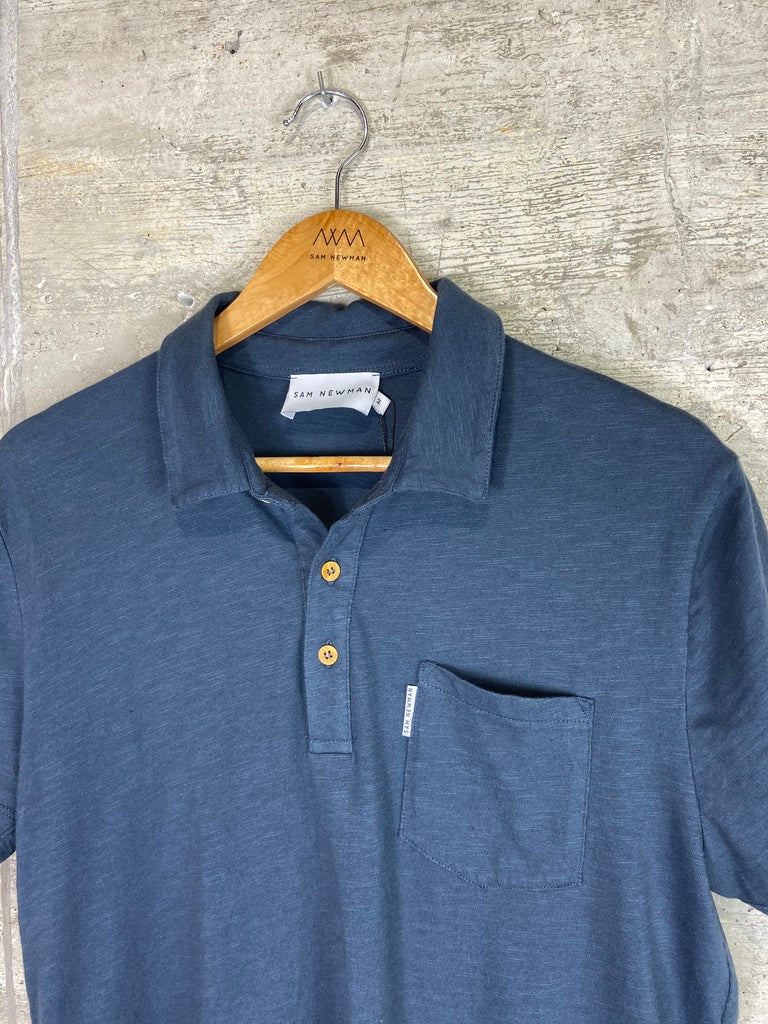 BASIC NAVY POLO SHIRT