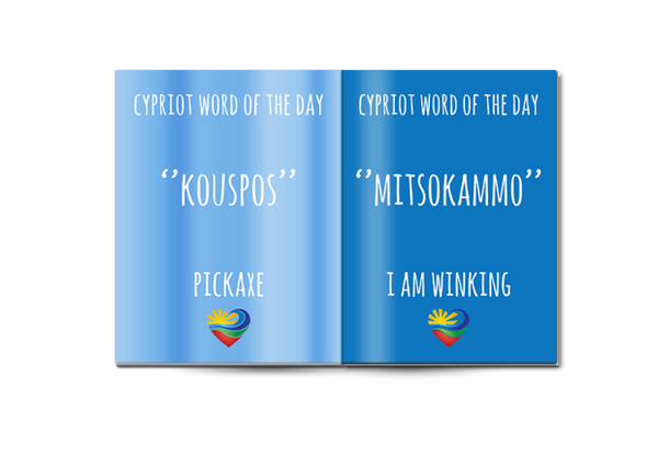 'Cypriot words of the day' book