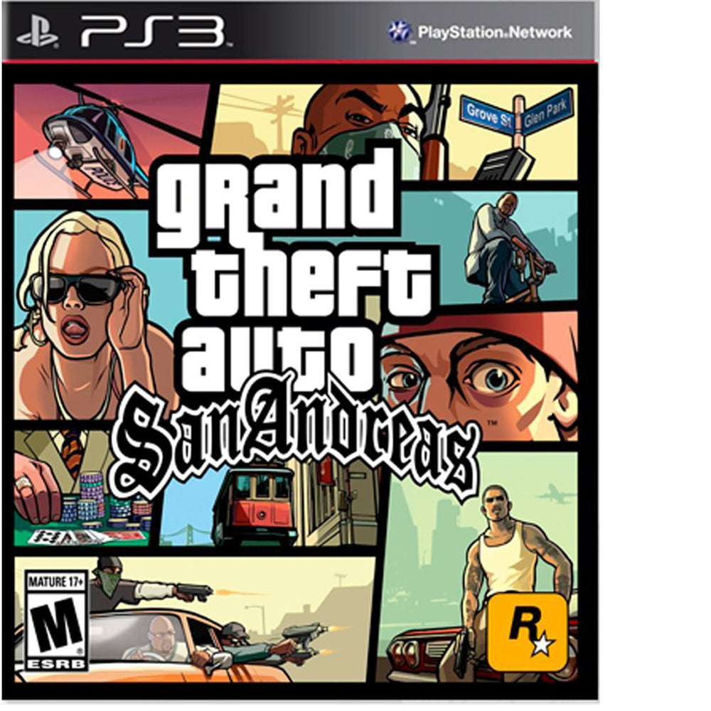 Ps3 Juego Grand Theft Auto San Andreas Playstation 3 Mandalibre