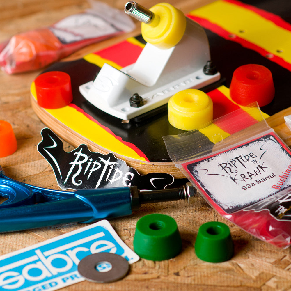 Tune your ride with our longboard bushing selection