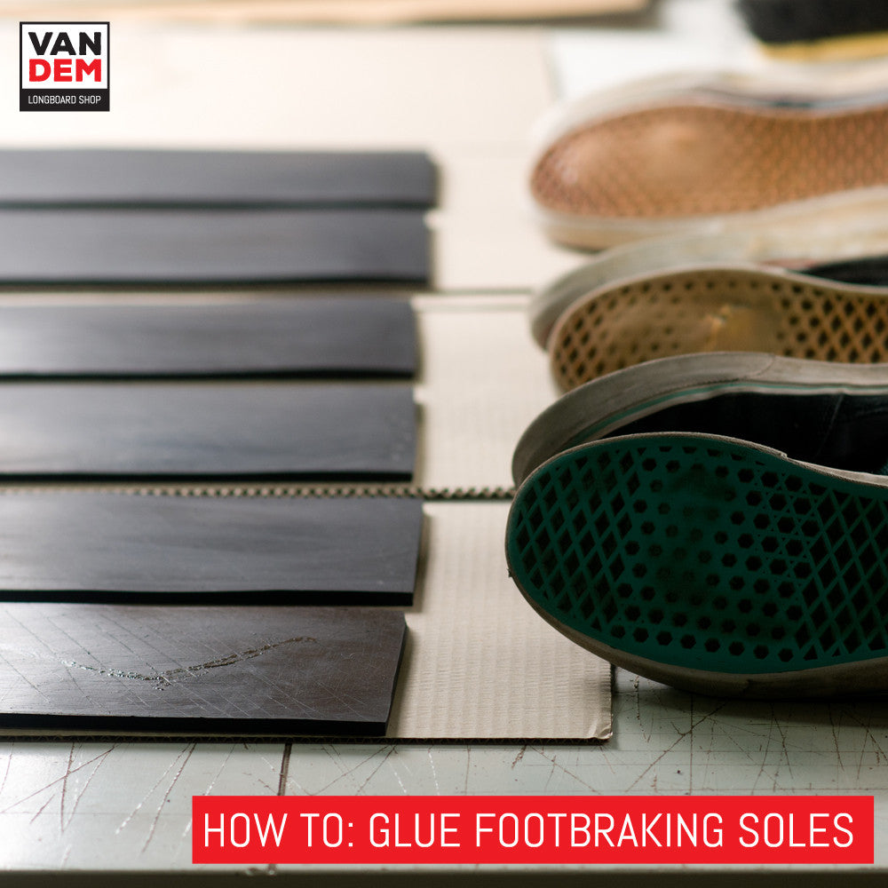 How to Glue Longboard Footbrake Soles