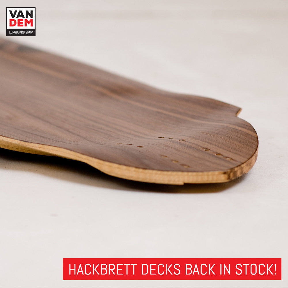 Hackbrett back in stock!