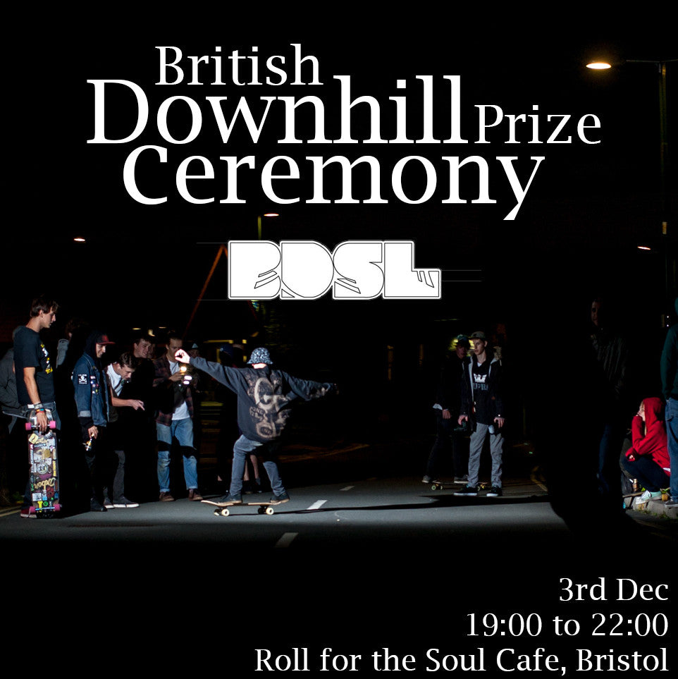 British Downhill Skateboarding League 2016 End of Year Party