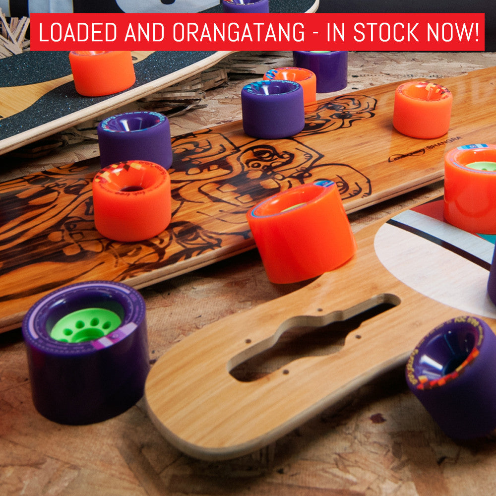 Loaded Longboards and Orangatang Wheels - In Stock Now!