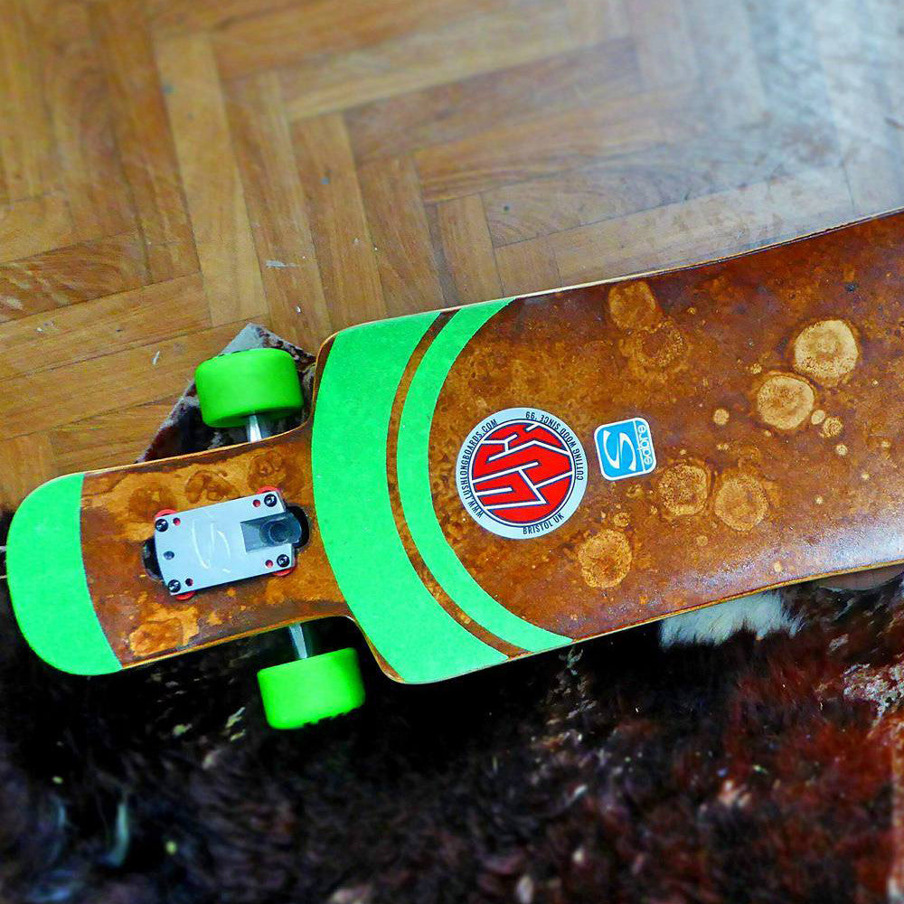 Check this awesome griptape job...
