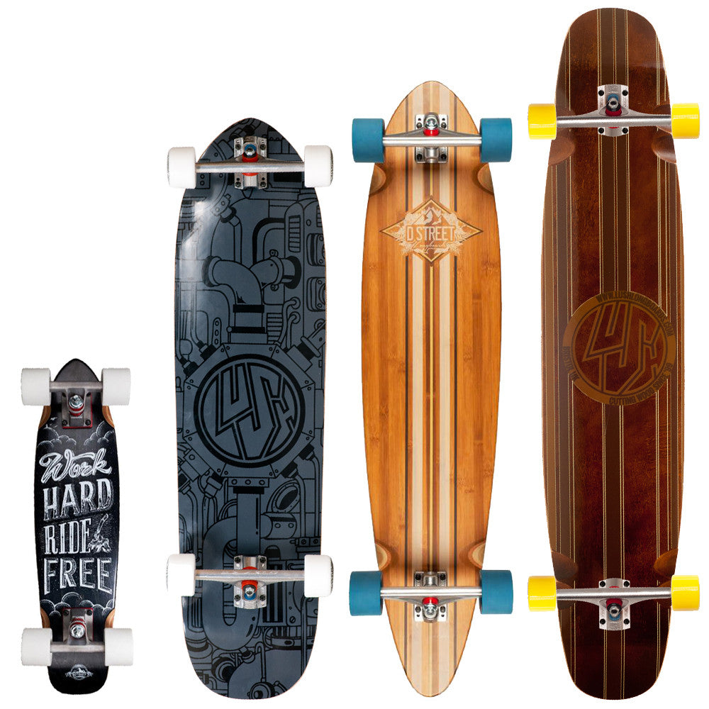 Choosing the right longboard size
