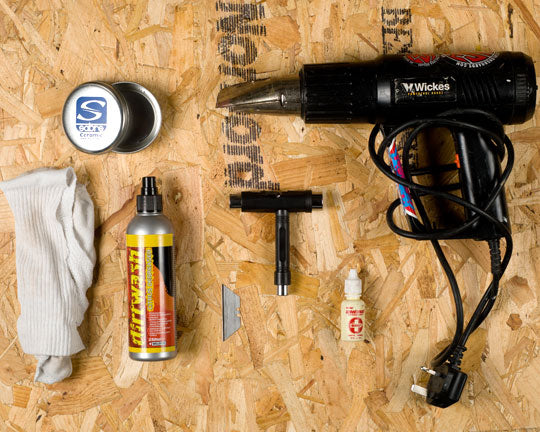 Clean Skate Bearings Tools Required