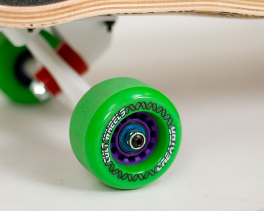 Clean Skate Bearings Reassemble & Skate