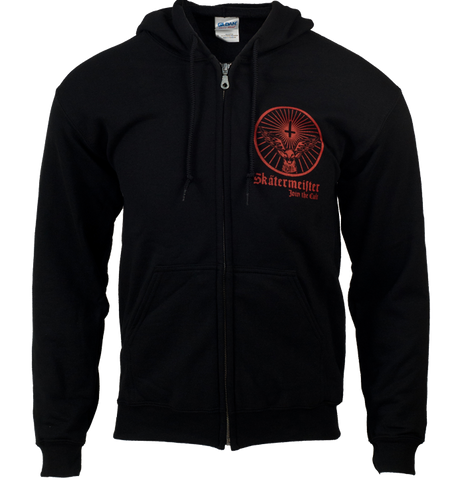 Cult Longboard Wheels Skatermeister Zip Hood UK