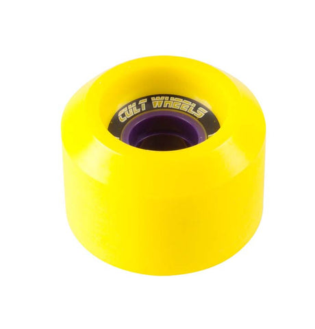 Cult Wheels Chronicle 65mm Yellow (Stoneground)