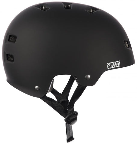 Bullet Helmet Matt Black Longboard UK
