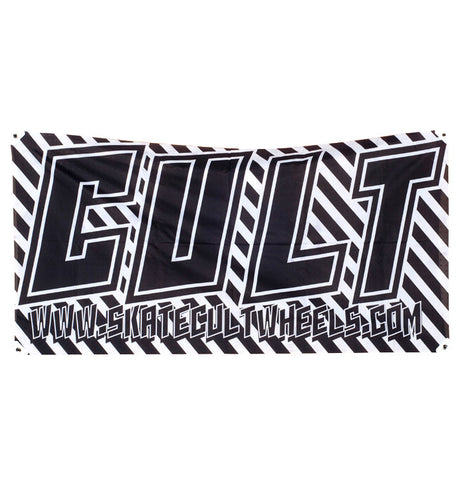Cult Longboard Wheels TFR Banner 75x150 UK