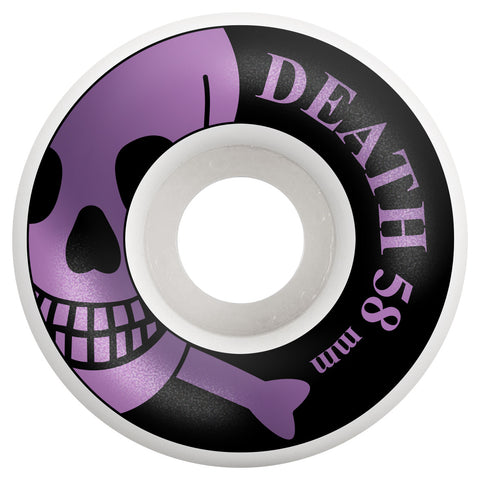 Death Skulls Skateboard Wheels 101a