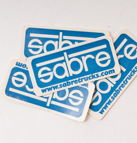 Sabre Trucks Rectangle Sticker Small