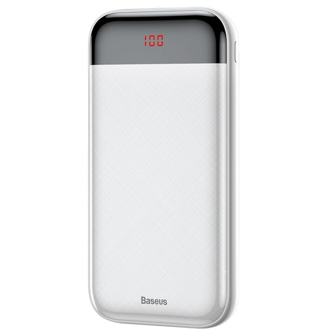 Image of Baseus 20000mAh Power Bank 20000 mAh LCD USB C PD Fast Charging Powerbank Portable External Battery Charger For Xiaomi Poverbank