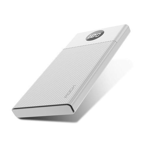 Image of ROCK Power Bank 10000mAh Portable Quick Charge PowerBank USB PoverBank External Battery Charger For iPhone XR 8 Xiaomi Mi Huawei