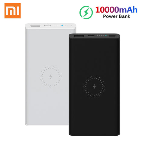 Image of Xiaomi Wireless Power Bank Youth Version 10000mAh 10W Qi Wireless Quick Charge 18W USB Fast Charging Portable Charger Powerbank