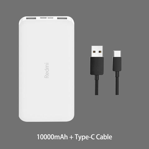 Image of Redmi Power Bank 20000mAh Quick Charge 10000mAh Powerbank Dual USB Two Way Fast Charging Portable Charger External Battery