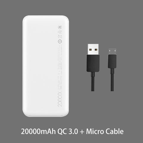 Redmi Power Bank 20000mAh Quick Charge 10000mAh Powerbank Dual USB Two Way Fast Charging Portable Charger External Battery