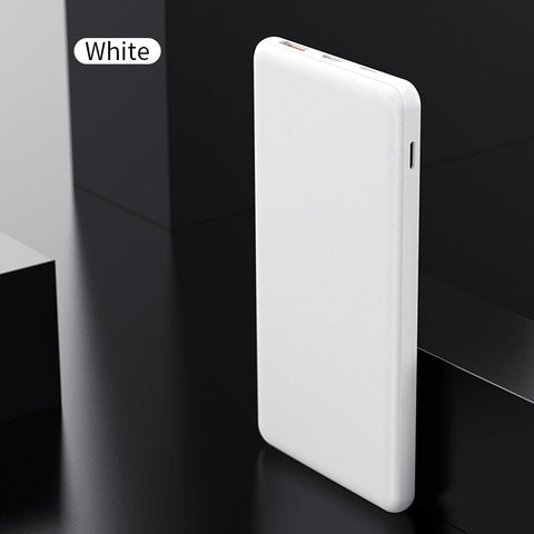 Image of ROCK 10000mAh Power Bank 18W PD fast charge QC 3.0 Powerbank Portable Charger Universal Mobile Phone External Battery for Xiaomi