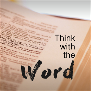 1. Meditation begins with thinking on Scripture.