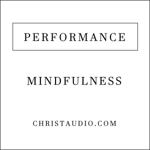 Christian Mindfulness for Performance