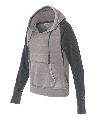 HOTSHOTS  J. America - Women's Zen Fleece Hooded Sweatshirt - 8926