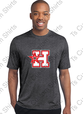 H-STAR LOGO- HOTSHOTS - SPORT-TEK Adult AND Youth DriFit T-Shirt ST360