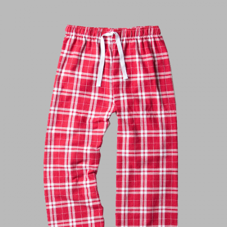 FLANNEL PJ PANT - Cardinal Red Flannel Pant F20 - YOUTH THRU ADULT
