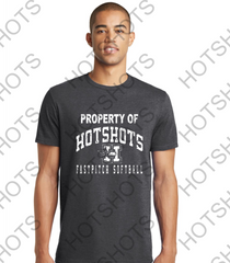 PROPERTY OF HOTSHOTS ADULT - DT5000 District ® The Concert Tee ®
