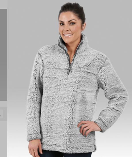 HOTSHOTS - LADIES AND YOUTH  - SHERPA 1/4 ZIP PULL OVER BY BOXERCRAFT -
