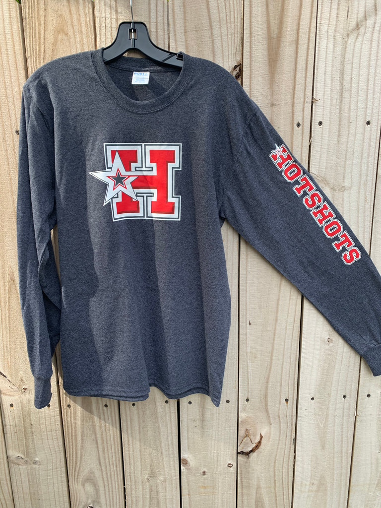 H-STAR LOGO -  T-Shirt Long Sleeves