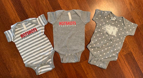 Rabbit Skins - Infant Baby Rib Bodysuit - 4400 - Hotshots