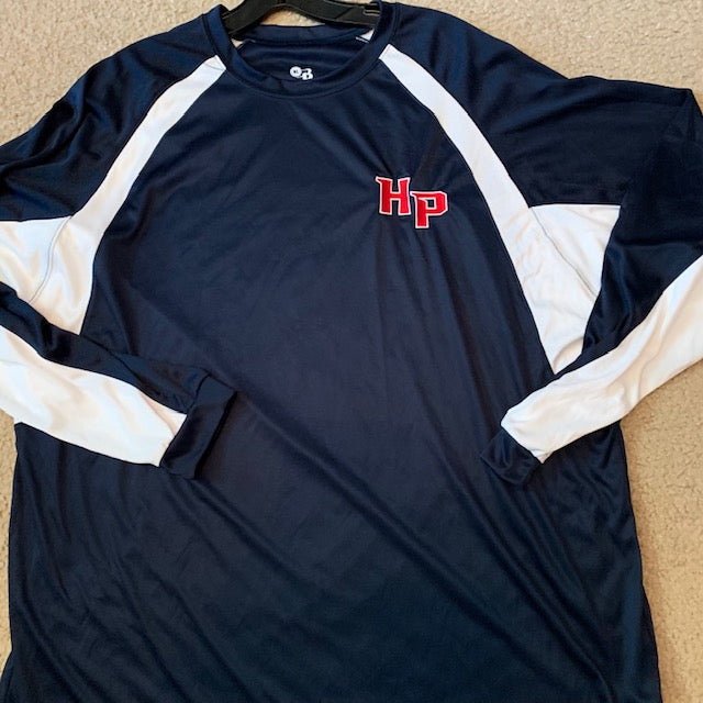 891401c7 HOUSTON POWER BADGER SHORT AND LONG SLEEVE EMBROIDERED HP - DRI FIT – T's  Custom Shirts