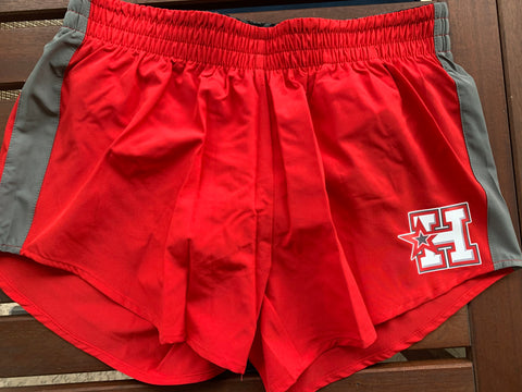 HOTSHOTS - Red and Granite Elite Short P60R - ADULT